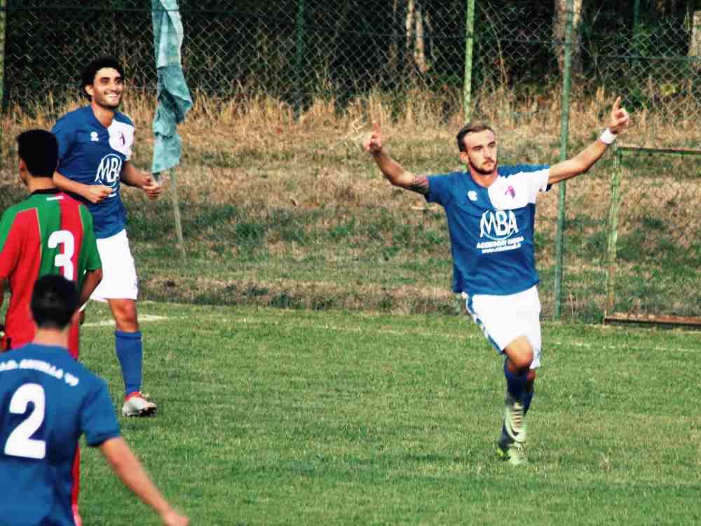 Manetti in rete all 39 89 39 e l 39 antella vola in testa alla - Bagno a ripoli calcio ...